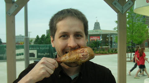 Nothing brings out the inner caveman like a good turkey leg.