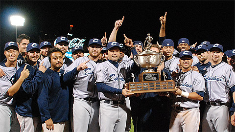 The Columbus Clippers consecutive Governors' Cups and Triple-A titles.